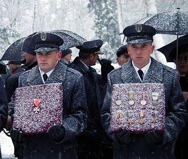 Pogrzeb asa polskiego lotnictwa