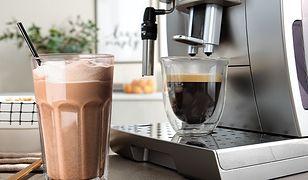 Aromatyczne espresso i kawowy szejk