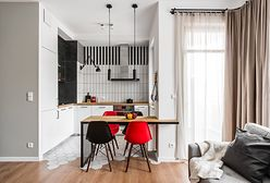 Mieszkanie z loftowym sznytem