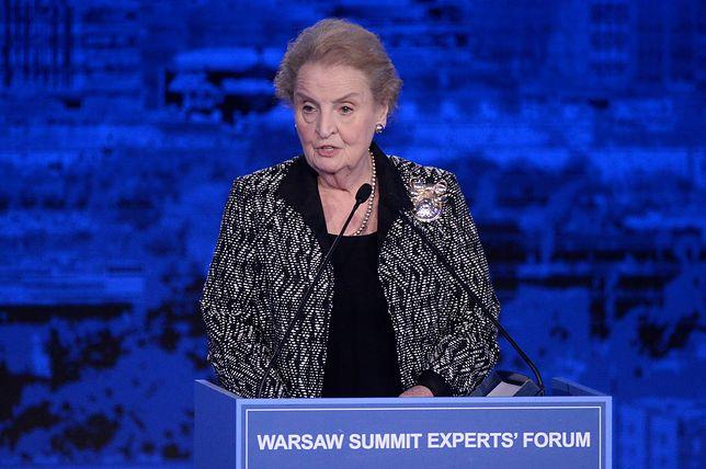 Albright jest zaniepokojona rządami w Polsce, Turcji i na Węgrzech