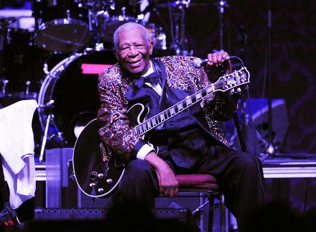Legendarny gitarzysta B.B. King trafił do szpitala
