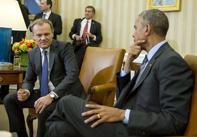 Obama spotkał się z Tuskiem. Rozmawiali o Ukrainie
