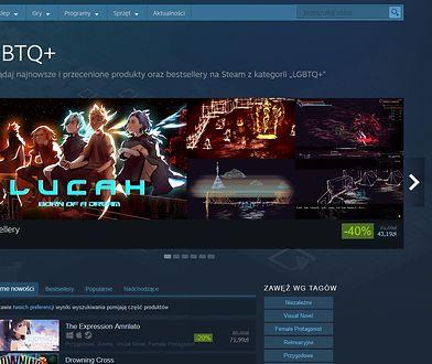"""Gry """"LGBTQ+"""" na Steam"""