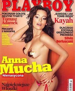 Anna Mucha twierdzi, że jej sesja w Playboyu była najlepsza. Sprawdzamy czy ma rację
