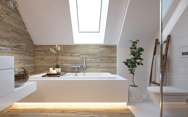 Jak urządzić łazienkę na poddaszu?