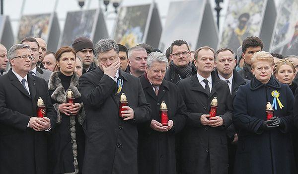 Niemieckie media chwalą prezydenta Gaucka za wizytę w Kijowie