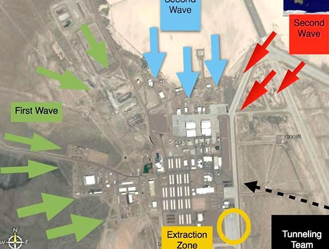 Strefa 51 w USA - Oficjalny plan inwazji. Znajdą kosmitów?
