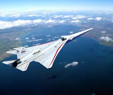 NASA pracuje nad supersonicznym samolotem