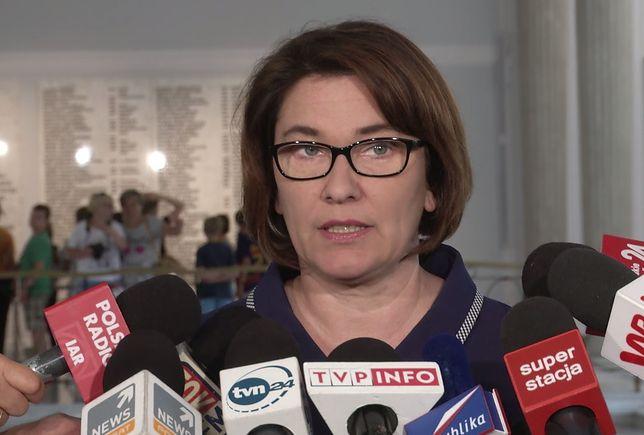 Beata Mazurek odniosła się do wypowiedzi Ryszarda Terleckiego