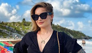 Ewelina Lisowska pozuje w bikini. Nie wstydzi się swojego cellulitu