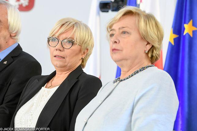 Prezes TK Julia Przyłębska poczuła się urażona wypowiedziami Małgorzaty Gersdorf