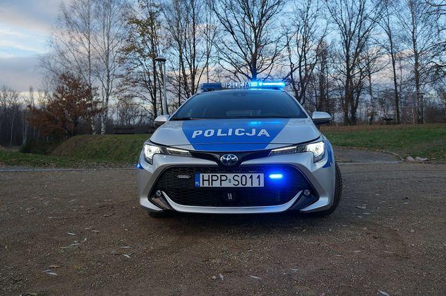 Siemianowice Śląskie. Kolejny radiowóz z napędem hybrydowym zasilił flotę drogówki.