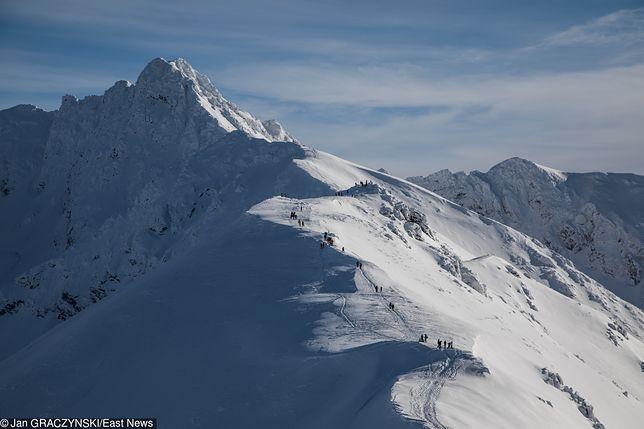 Tatry. Ośnieżone szczyty gór (zdj. arch.)