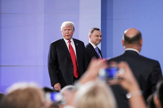 O spotkaniu Dudy z Trumpem spekulowało się półtora miesiąca temu