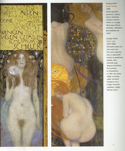 Alegorie fakultetów - Gustav Klimt (1898-1907)