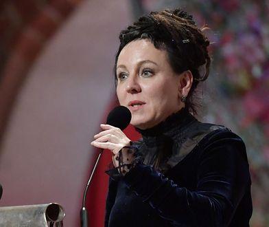 Olga Tokarczuk wygłosiła przemówienie na bankiecie noblowskim