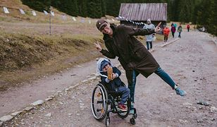 Arek bardzo lubi wycieczki w Tatry