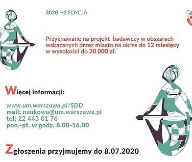 Warszawa rozpoczyna nabór na stypendia dla doktorantów