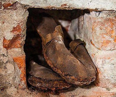 Warszawa. Każdy ma swój skarb. Buty z Fabryki Norblina ukrywały się długo