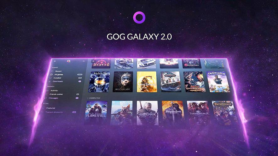 GOG Galaxy 2.0 od teraz z oficjalną integracją Epic Games Store fot. GOG