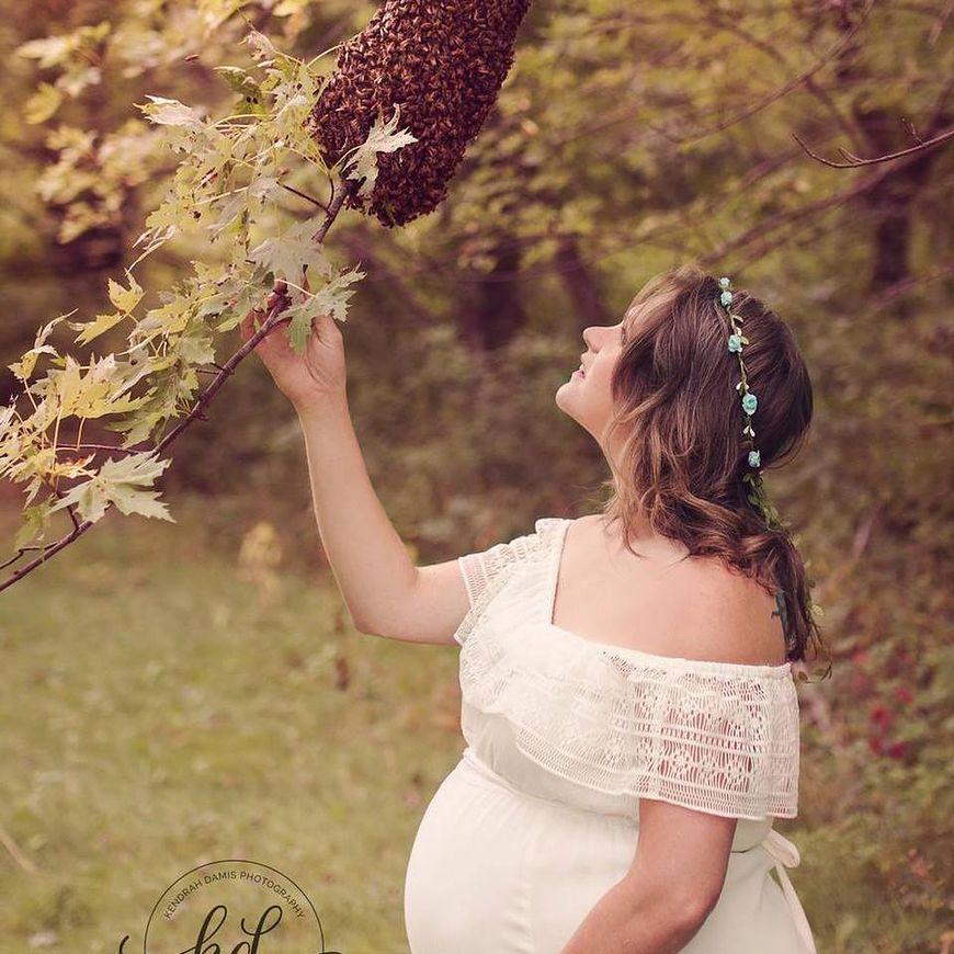 Sesja zdjęciowa z pszczołami [facebook.com]