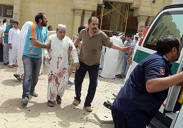 Samobójczy atak na meczet w Kuwejcie - zdjęcia
