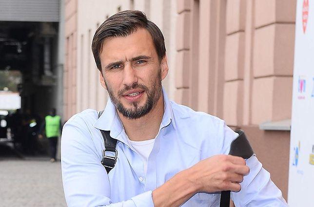 Jarosław Bieniuk chwali się synem