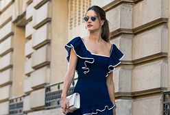 Alessandra Ambrosio w kusej sukience. Odsłoniła prawie wszystko