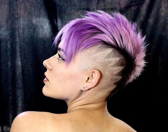 Hair tatoo to wzorki na wygolonych włosach