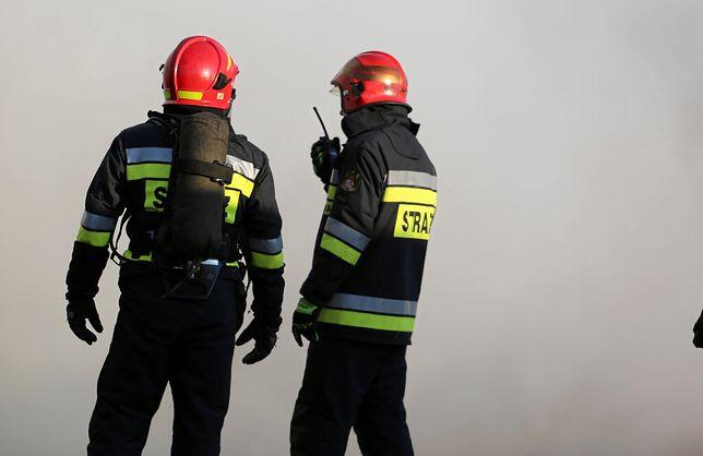 Warszawa. Na Tarchominie doszło do pożaru auta terenowego [zdj. ilustracyjne]