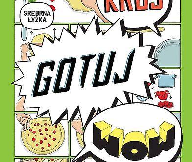 """""""Krój, gotuj, wow"""" - ilustrowana książka kucharska"""