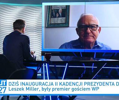 Zaprzysiężenie Andrzeja Dudy. Bartłomiej Sienkiewicz ostro o bojkocie. Leszek Miller: słowa bezrozumne