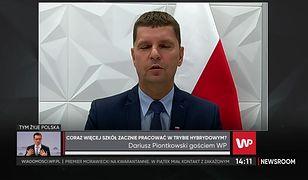 Dariusz Piontkowski: Dyrektorzy nie mogą sami decydować o zamknięciu szkół