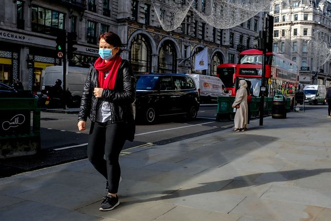 Londyn, listopad 2020 r.
