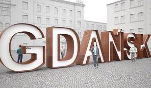 Gdańsk doczekał się wielkiego napisu. Miasto poszło w ślady Porto i Amsterdamu