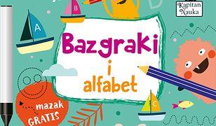 Kapitan Nauka. Bazgraki i alfabet (3-6 lat)