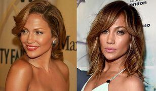 Jennifer Lopez w 2006 i w 2016 roku