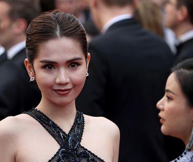 Ngoc Trinh na festiwalu w Cannes
