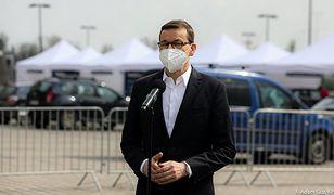 """Premier Mateusz Morawiecki deklaruje. """"Zapiszę się z żoną na szczepienie"""""""