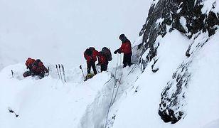 Tatry. Ratownicy ostrzegają przed wędrówkami nawet w niższych partiach gór