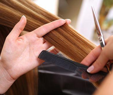 Nożyczki fryzjerskie pomogą w precyzyjnym cięciu oraz strzyżeniu końcówek.