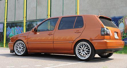VW Golf Mk III - Gruntownie odmieniony