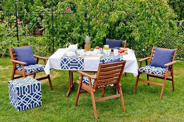 Relaks w ogrodzie lub na tarasie umilą wygodne meble