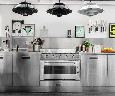 Nowoczesna stalowa kuchnia. Inspirujące zdjęcia!