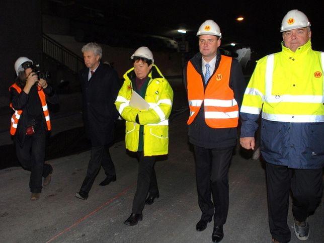 Mimo utrudnień, pojedziemy metrem w 2014 r.