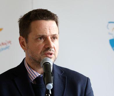 Koronawirus w Polsce. Rafał Trzaskowski zrobił test.