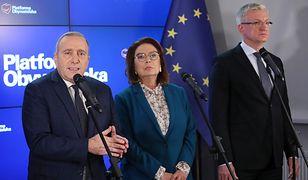 Grzegorz Schetyna i kandydaci w prawyborach prezydenckich