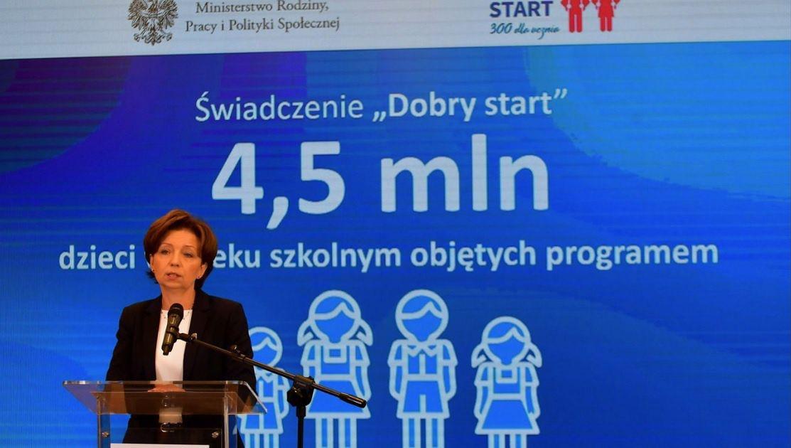 Minister rodziny Marlena Maląg zapewnia, że programy socjalne nie zostaną ograniczone