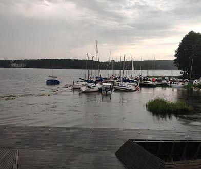 Pogoda. Szkwał w Olsztynie