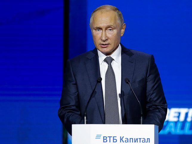 Władimir Putin: incydent na Morzu Azowskim był ukraińską prowokacją